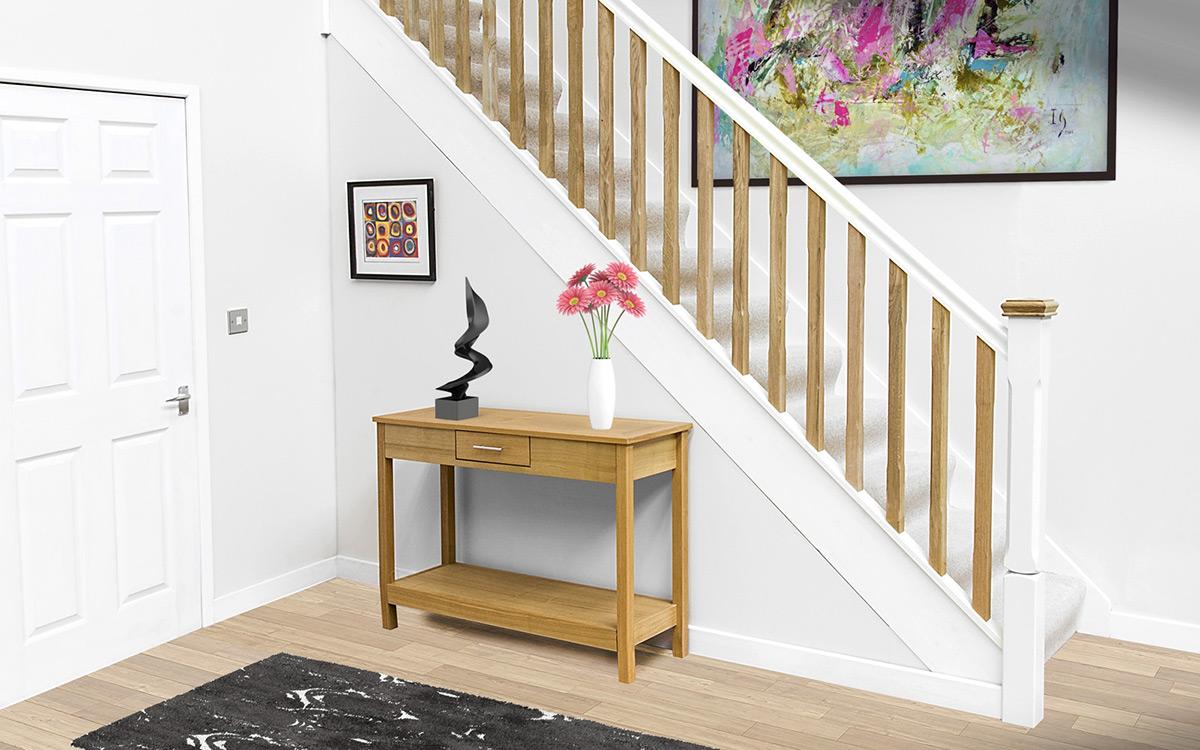 White Primed Handrails