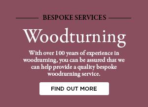 bespoke woodturning